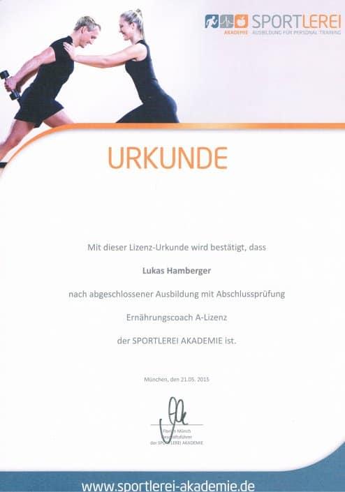 Personal Trainer Dresden Ausbildungen Ernährungscoach
