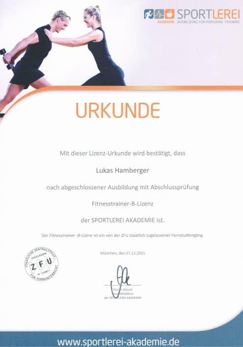 Personal Trainer Dresden Ausbildungen FT B